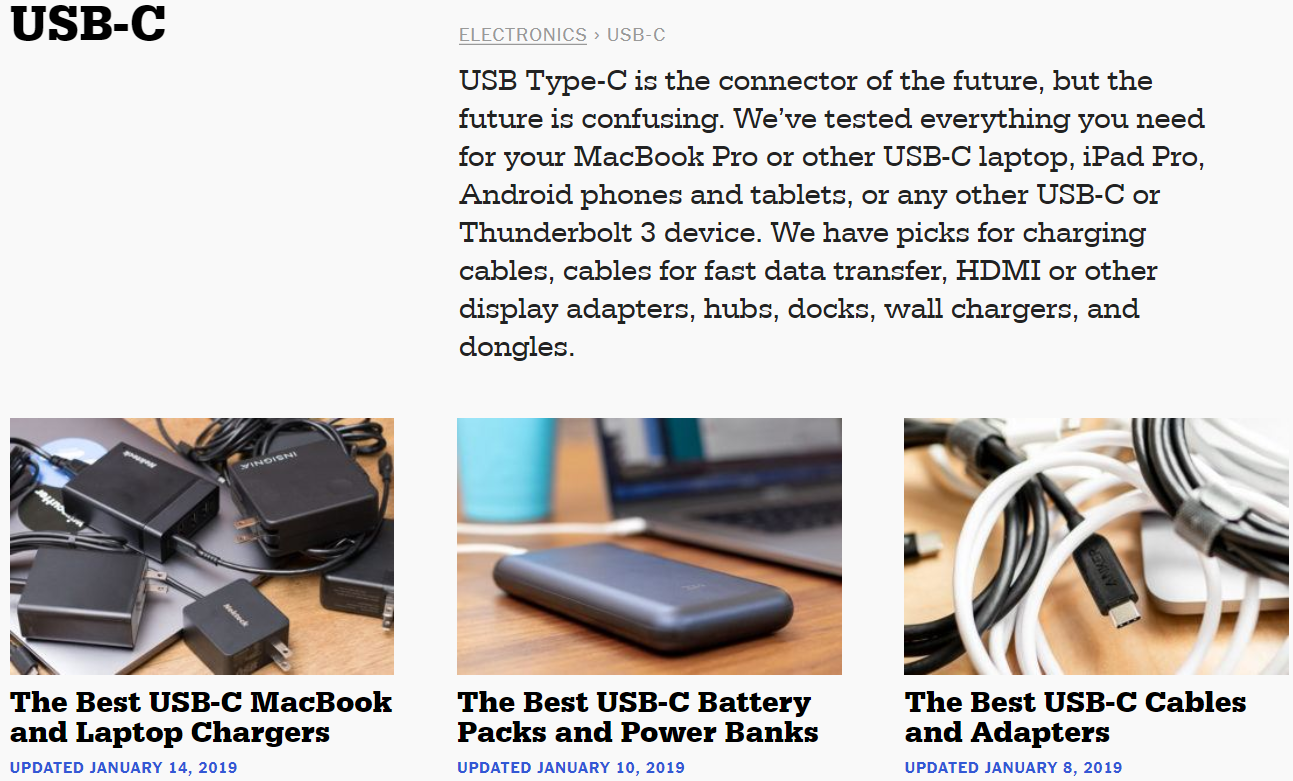 thewirecutter usb c