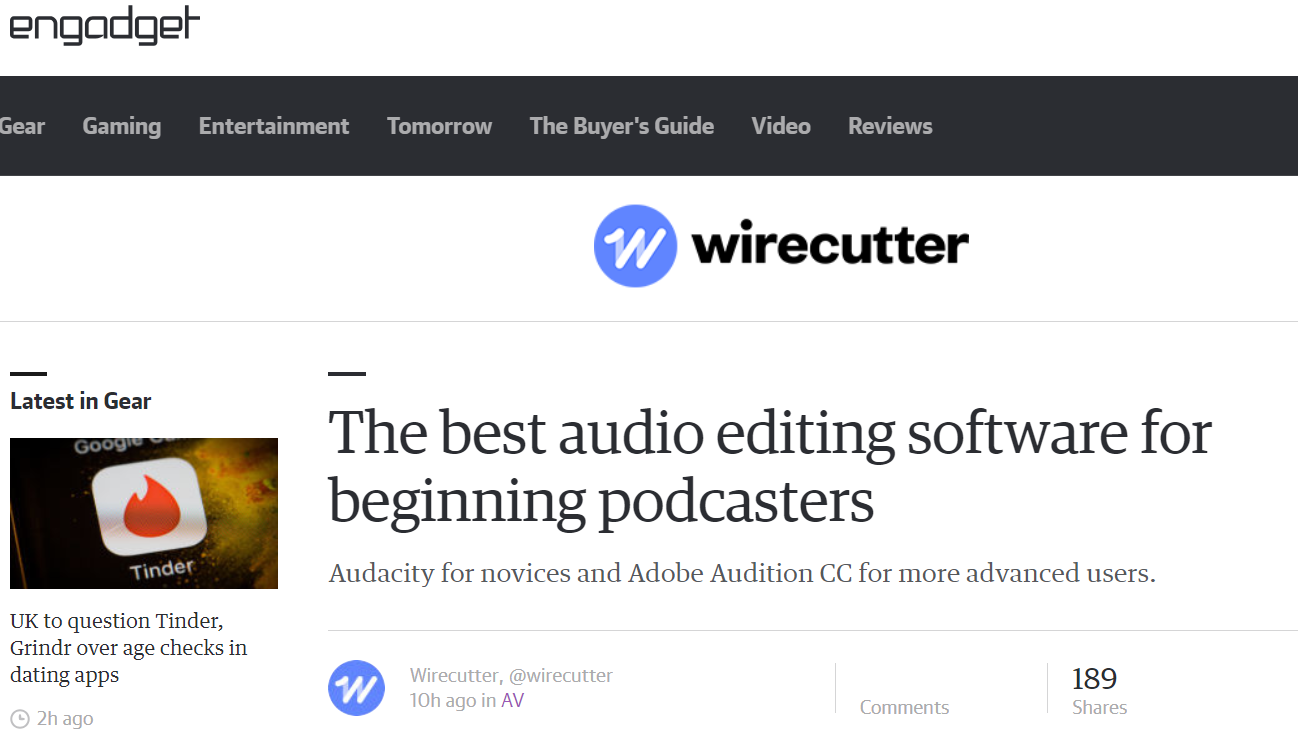 the wirecutter 瘾科技