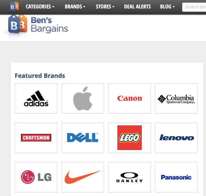 bensbargains 品牌板块