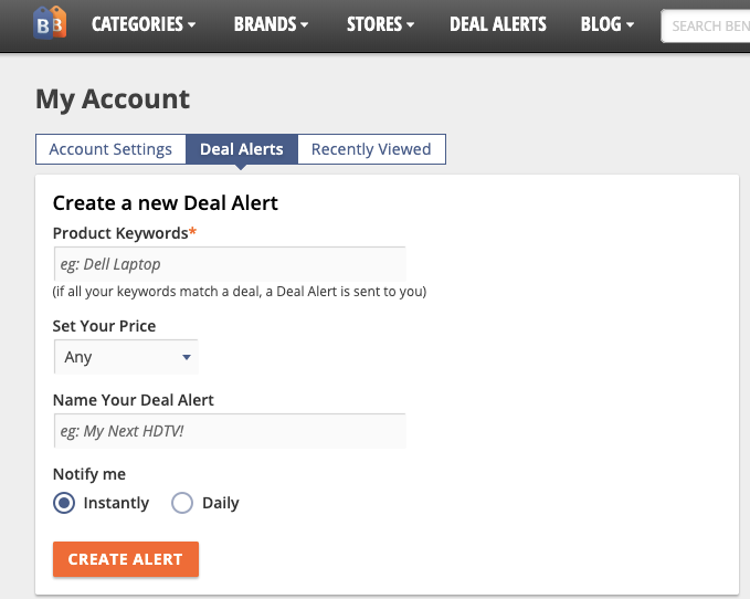 bensbargains deal alerts 板块