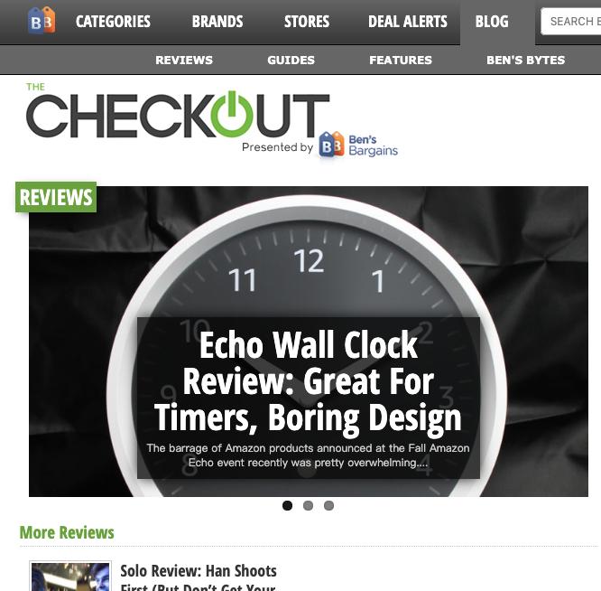 bensbargains 博客测评