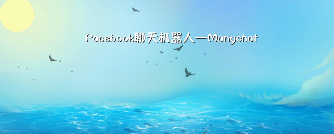 Facebook最新大杀器—聊天机器人ManyChat介绍和应用