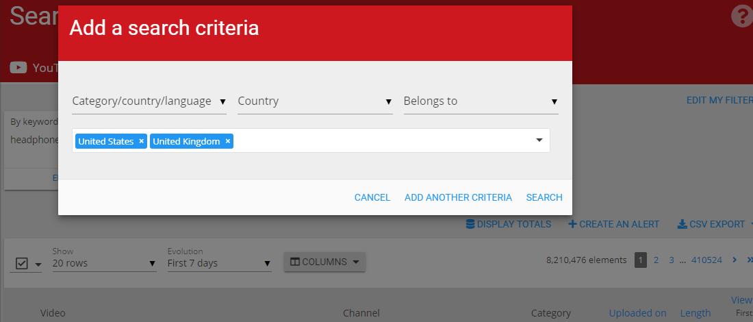 Wizdeo Analytics-Find content搜索条件增加-2