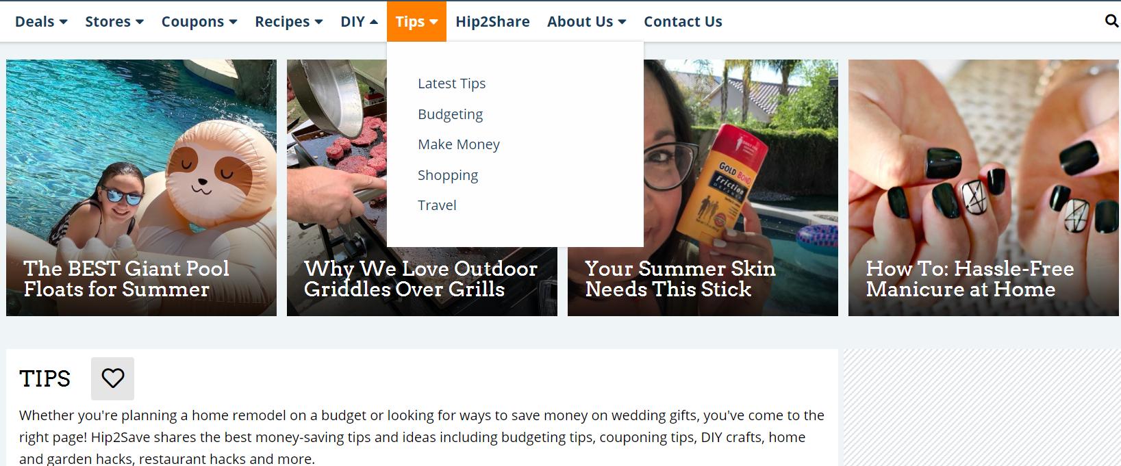 hip2save tips分享